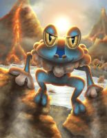 Forging Froakie by crateshya
