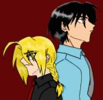 Edward Elric and Roy Mustang by Wolverina