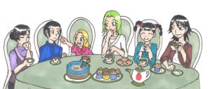 Welcome to the Tea Party by sarani-chan