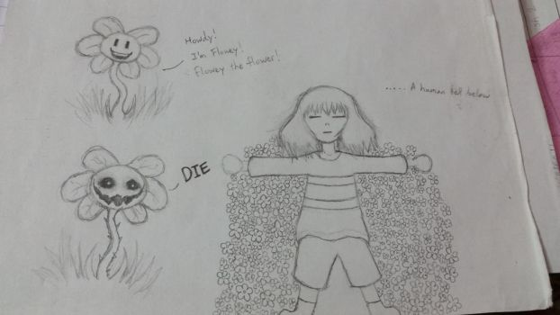 Undertale Doodles by RCTheAnimatedGamer