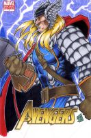Thor Cover Deviant ID by chris-foreman