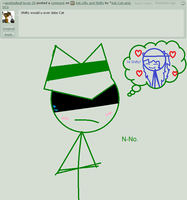 Ask Lifty and Shifty question 1# Date Cat? by Ask-Cat-and-OCs