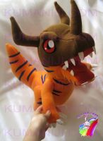 GREYMON PLUSH by chocoloverx3