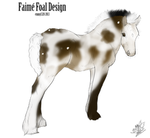 Fiame Foal Design by BV-Academy