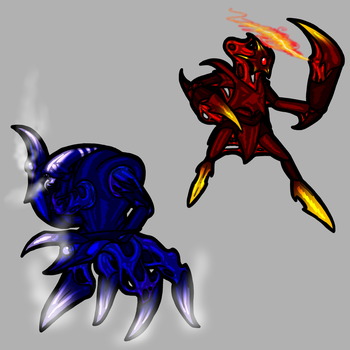 Gaming Sketches: Basic Enemies by Shadow-Arcanist