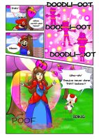 Princess Mario - Page Two by FieryJinx