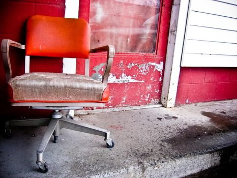 Red Chair by Lifelurking