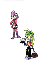Sonic Boom: Sonia and Manic by KessieLou