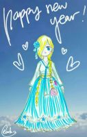 Happy New Year with Hanbok Rosalina by Derochi