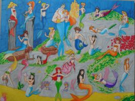 Mermaid world by SailorMiha