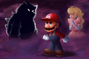 Super Mario 64 by smashsweetie