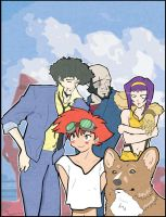 Cowboy Bebop by the-lagz