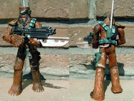 Snoova Wookiee Bounty hunter by Mace2006