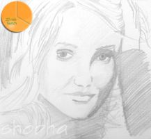 Quick Sketch - Cameron Diaz by shosansharma