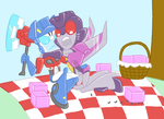 TFA - Ant-droids in a picnic by Rosey-Raven