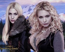 Breaking Dawn part 2 - Tanya and Kate by codeevanescence