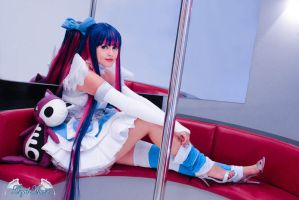 Stocking Anarchy Cosplay Fly away by Angel--Arwen