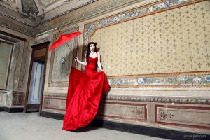 The red fairytale by Annie-Bertram