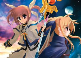 Nanoha The MOVIE 1st by staryume