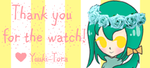Thanks 4 the Watch - Stamp thingy by Yuuki-Tora