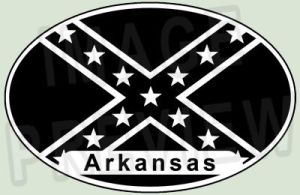 Confederate Arkansas by hassified