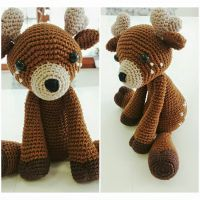 Little Deer Amigurumi by Marik0