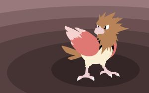 Pkmn 021 Spearow by Senzune