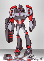 TFA Megatron by Monsterkatze