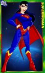 SUPERWOMAN COLORED by icemaxx1