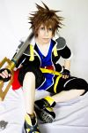 Sora Cosplay Kingdom Hearts 2 by HIZAKI-PRINCESS7