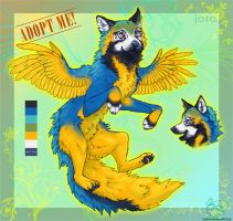 Joto: Macaw x Wolf AUCTION- CLOSED by LeoNoy