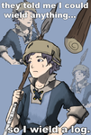 Donnel - Log Wielder by wolfblitzer