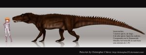 Saurosuchus by Christopher252