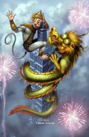 Welcome Year of The Dragon by Firnadi