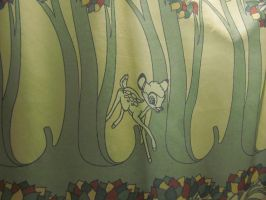 Bambi-themed Shower Curtains 1 by BigMac1212
