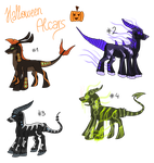 Special Halloween Alcar Adoptables -OPEN- by Dreqqy