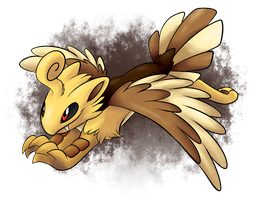 FAKEMON: Unnamed baby griffin by BritishStarr