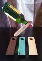 Magic Bottle Holders (2012) by LananteDesigns