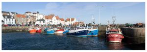 Pittenweem Harbour by FlippinPhil