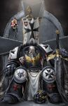 Warhammer: The Lonely Templar by BlondTheColorist