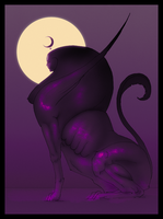 Crescent Moon by hypnothalamus