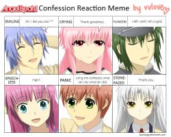 Angel Beats Confession Meme by vvlove