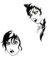 Selina face studies by aichan25