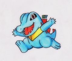 #158 - Totodile by GTS257-CT
