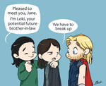 Thor 2 - The Romantic comedy by caycowa