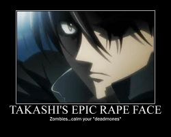 demotivational: takashi rape face by Joineth