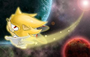 Super Sonic: Reach for the stars [Digital Version] by Dash-Metal-Cheetah