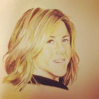 Jennifer Aniston by Blu3Tea