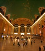 Grand Central Terminal Hall by psychowolf21