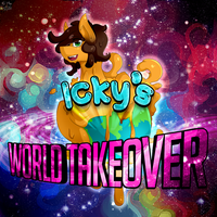 [COLLAB] Icky's World Takeover - album art by Poowis